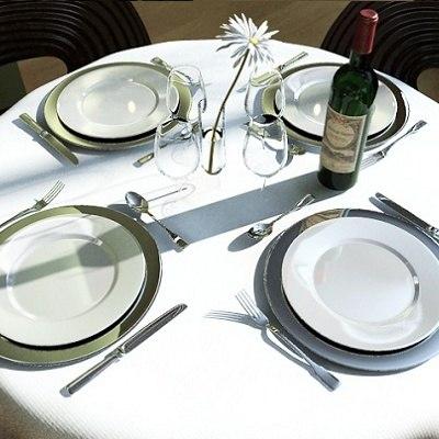 restaurant bar interior 3d model