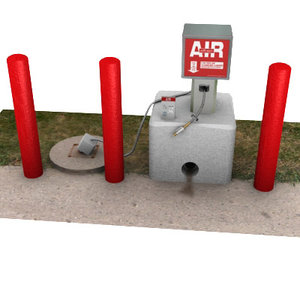 air pump 3d lwo