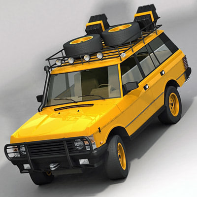 classic 4x4 expedition 3d max