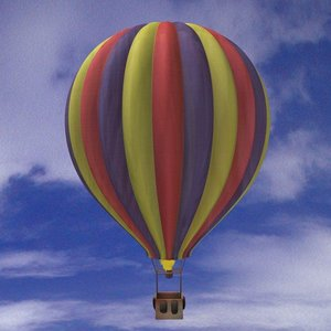 3ds max ballon