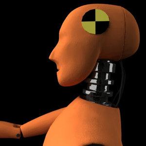 obj crash dummy human