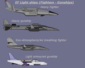 free max mode pack fighter gunship earthforce