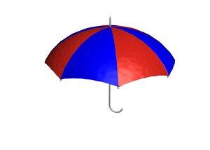 free umbrella 3d model