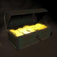 treasure chest 3d x