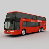 mitsubishi fuso aero king 3d c4d
