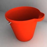 bucket new 3d 3ds