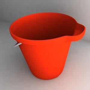 bucket new 3d 3ds