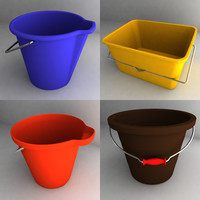 bucket new 3d obj