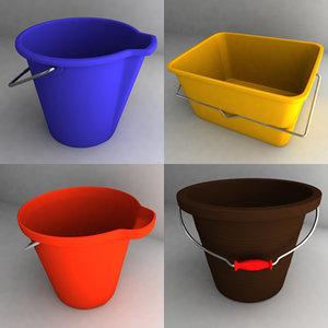bucket new 3d obj