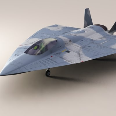 3d cyclone 5 fighter plane
