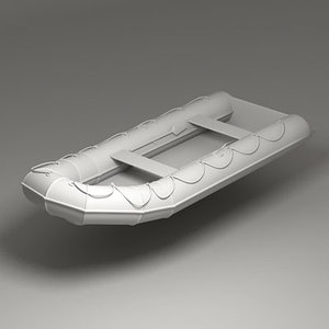 3d model dinghy