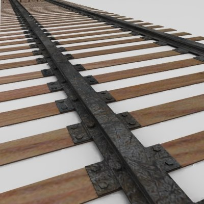 railway track 3ds
