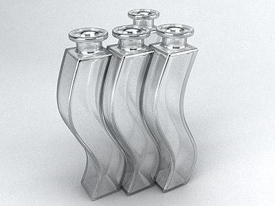 3d model fit glass decor