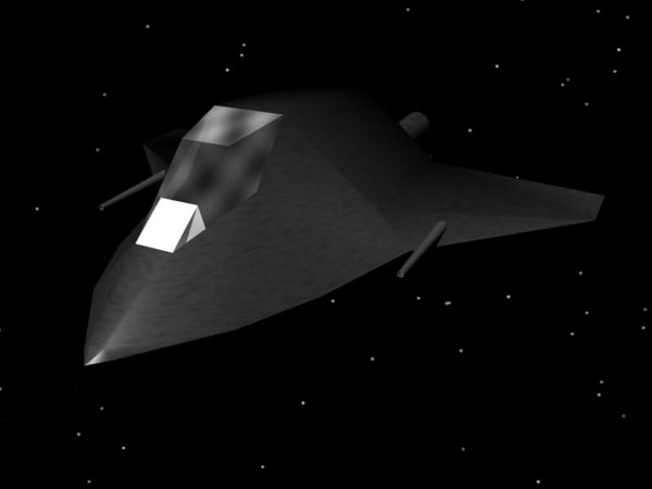 3d model pheonix spaceship