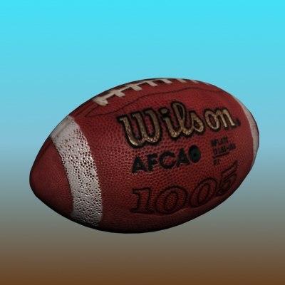 3d max football balls