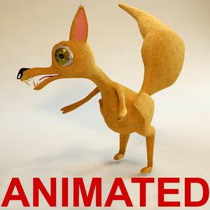 squirrel animation 3d max