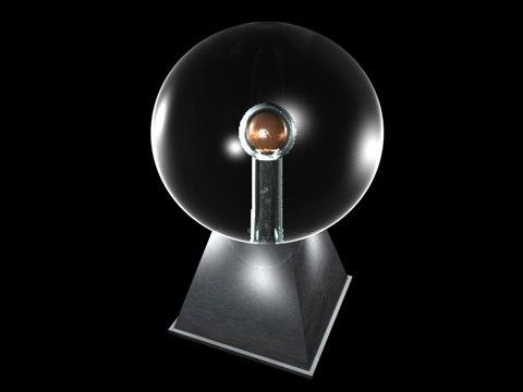 static ball 3d model