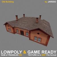 Lowpoly building - oBld_001S.rar