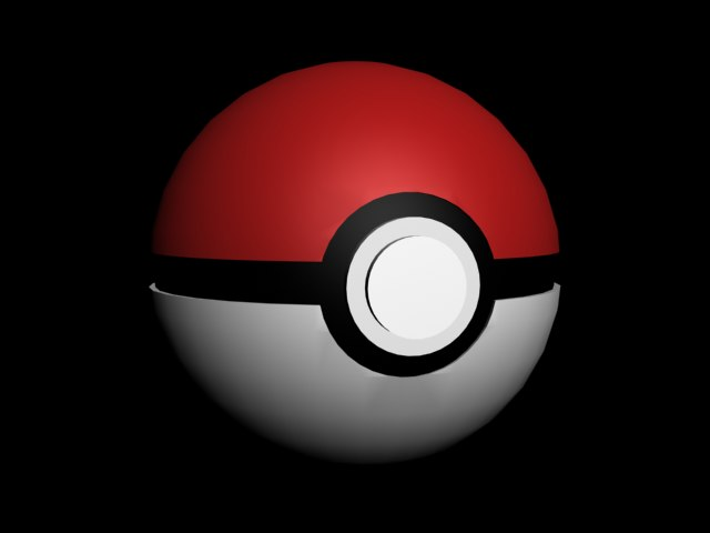 free max model pokeball pokemon