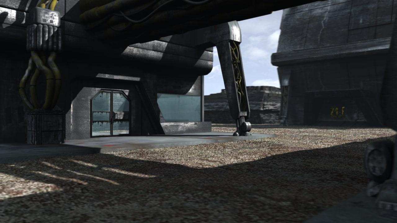 3d futuristic space colony