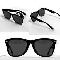 sunglasses glass 3d max