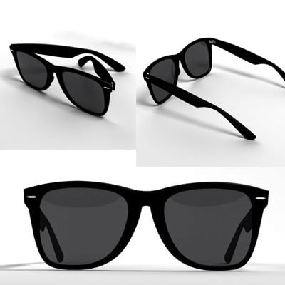 fd686ac6e74 sunglasses glass 3d max