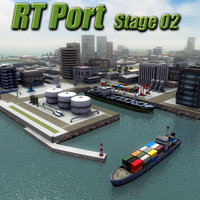 RT Port St02 Harbor Model