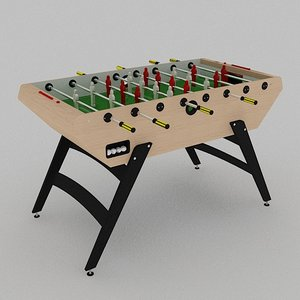 garlando 5000 football table 3d model