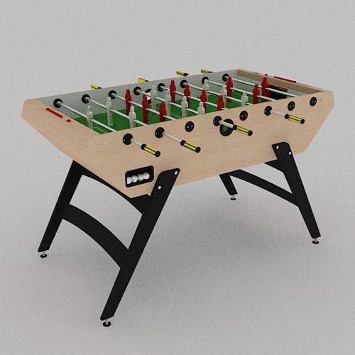 garlando 5000 football table 3d model