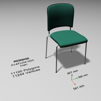3d chair offices model