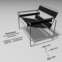 Office Chair - 002 - Wassily
