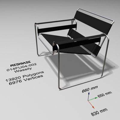 chair - 3d x