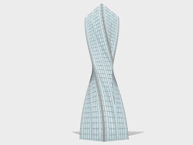 3ds max concept skyscraper