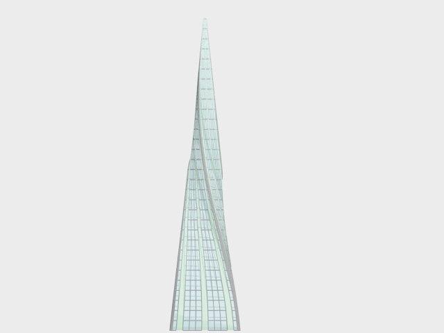 concept skyscraper 3d model