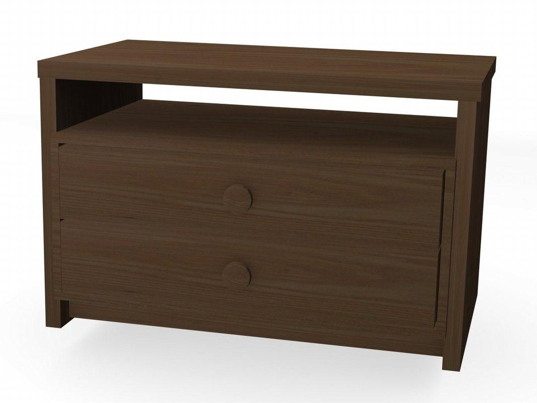 3d model drawer cabinet