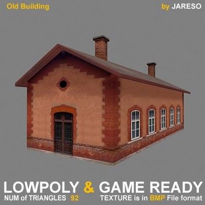 old building - obld 3d model