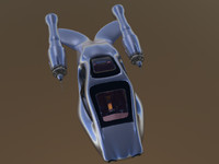 3d transportation hover model