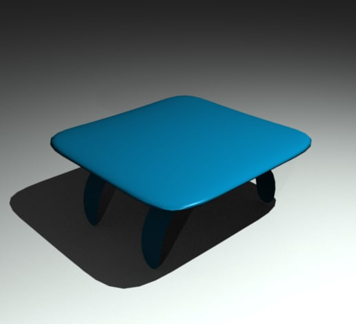 nice table 3d model