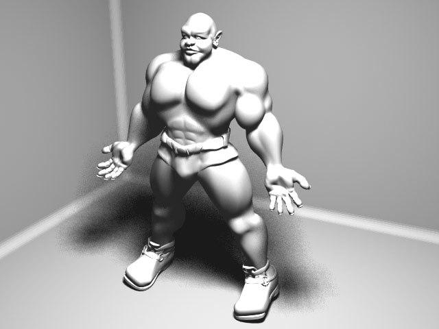 giant 3d model