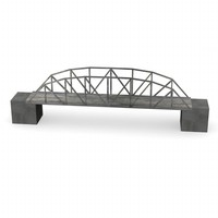 dxf bridge polygonal