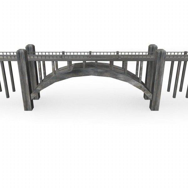 bridge polygonal obj