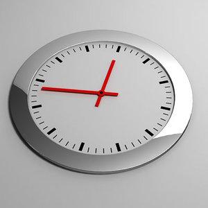3d clock