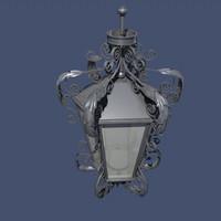 high detailed lantern