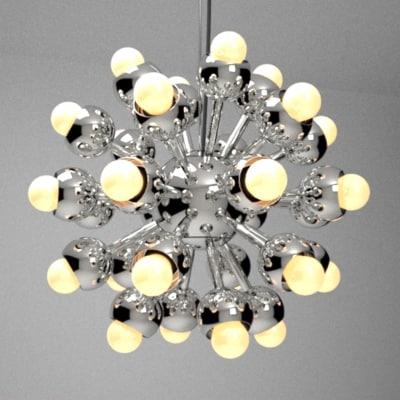 3d model of cosmos lamp