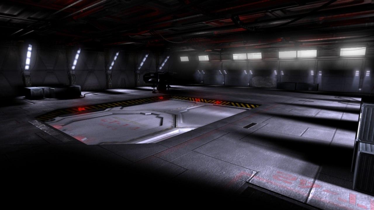 maya space ship landing bay
