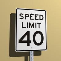 Speed Limit 40 MPH