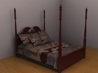 maya bed blanket pillows