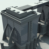futuristic  building  SF2
