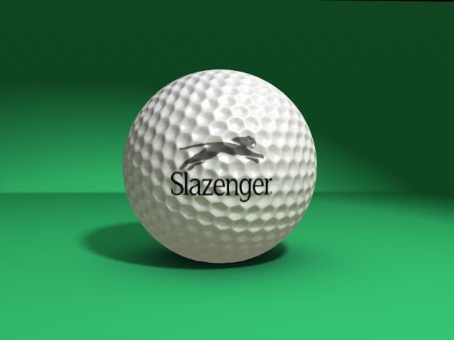 maya golf ball