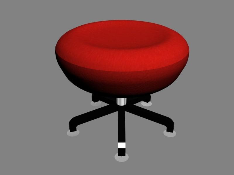 stool 3d model